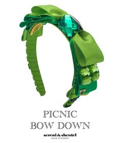 Headband by Sereni & Shentel 2012 Picnic Collection - Bow Down. Made in Borneo.