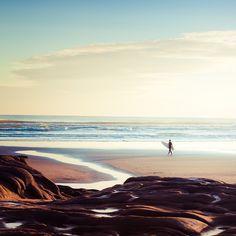 Summer Surf Beach