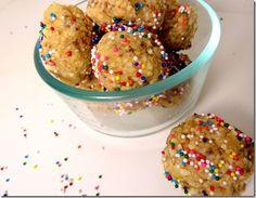 No Bake Birthday Cake Balls Vegan Bites