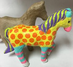 Horse Lover's will Love these miniature figurines. They are so much fun to paint and collect.