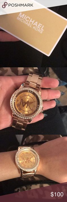 Rose gold Michael Kors watch Rose gold Michael Kors Minor scratches on the band Accessories Watches