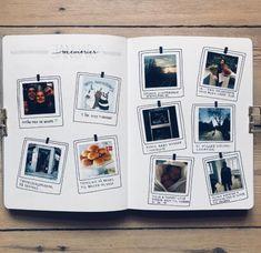 Bullet Journal Ideas scrapbook The Best Greeting Card Storage Ideas Album Journal, Memory Journal, Bullet Journal Ideas Pages, Scrapbook Journal, Photo Journal, Journal Layout, Travel Scrapbook, Bullet Journal Inspiration, Journal Pages