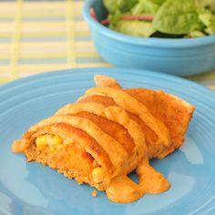 crispy sweet potato chipotle enchiladas
