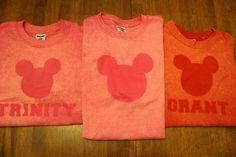 """Disney """"bleached"""" shirt"""