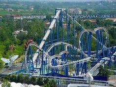 Blue Tornado in Gardaland! How fun!