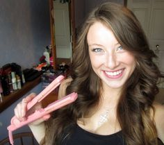 How to curl your hair with a flat   iron...best tutorial that i have used so far!