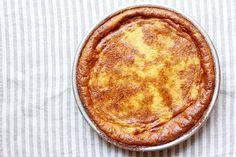 Tuscan Rice and Custard Torta (Torta di Riso alla Carrarina) Recipe on Food52, a recipe on Food52 Gluten Free Baking, Gluten Free Desserts, No Bake Desserts, Just Desserts, Dessert Recipes, Italian Desserts, Custard Desserts, Flan, Custard Pudding