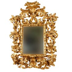 Monumental 18th Century Florentine Rococo Gilded Mirror   1stdibs.com