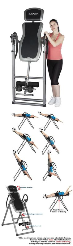 Inversion Tables 112954: Inversion Table Deluxe Heavy Duty Foldable Fitness Back Therapy Pain Reflexology -> BUY IT NOW ONLY: $117.34 on eBay! #InversionTables