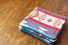 Tutorial | Easy Fall Fabric Coasters
