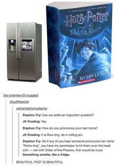 """""""Something smaller, like a fridge."""""""
