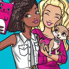 New official pictures of Barbie for your social media icons Barbie Birthday, Barbie Party, Barbie Tumblr, Arte Elemental, Barbie Drawing, Barbie Cartoon, Barbie Coloring Pages, Barbie Images, Drawings Of Friends