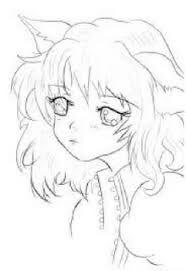 Image Result For No Color Anime Drawings Anime Drawings Anime Art Tutorial App Drawings