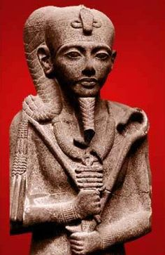 """Khonsu, The Lunar God -  Ancient Egyptian god whose main role was associated with the moon. His name means """"traveller"""" and this may relate to the nightly travel of the moon across the sky."""