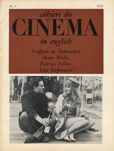 Cashiers Du Cinema, May (Francois Truffaut and Julie Christie on the set of Fahrenheit 60s Films, Francois Truffaut, Julie Christie, Film Movie, Movies, Orson Welles, Film School, Cinema Posters, Books