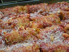 ANNERIS CUISINE. Rollos de Lasagna con Pollo