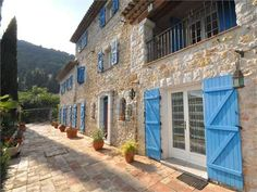 House for sale in Carros - Alpes-Maritimes - Provencal Mas of 6 rooms France REF: French Property, International Real Estate, Property Prices, Medieval Castle, Ground Floor, Provence, Luxury Homes, Entrance, Dream Homes