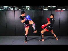 MUAY THAI: BRUTAL Muay Thai KO Combination   Evolve University - YouTube