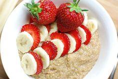 Strawberry Banana Breakfast Quinoa