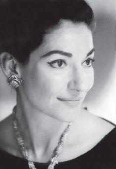Maria Callas the Greek Beauty.