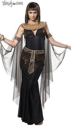 Cleopatra Costume, Cleopatra Halloween Costume, Egyptian Costume