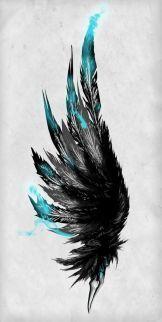56 feather tattoo ideas #tattooideas #FeatherTattooIdeas