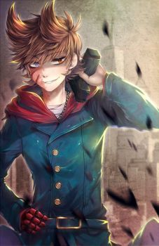 He looks attractive  .:Fanart:. Eddsworld - Don't Mess With Me by RimaPichi