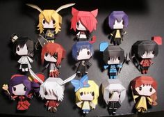 PAPERMAU: The Heart No Kuni No Alice Paper Toys Collection - by Larry-San