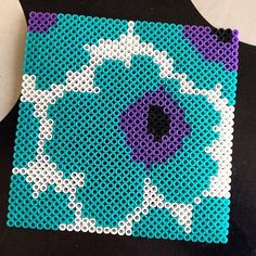 Marimekko design hama beads by aliceoppenheim