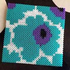Marimekko design hama beads by aliceoppenheim