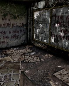 Silent Hill - Neely's Bar by Mageflower