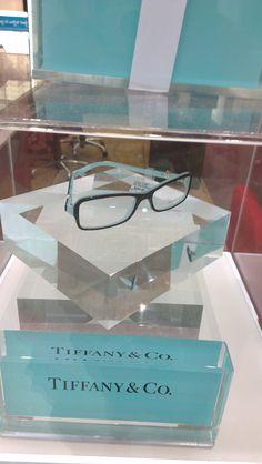 Christine, Laubman & Pank.  tiffany & co eyeglass frames, $495.00