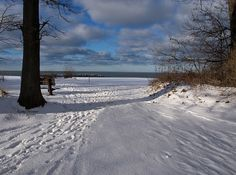 Presque Isle in the winter