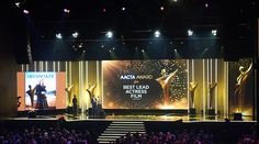 Lucky Tiger, Aacta Awards, Stage Set Design, Staging, Signage, Carnival, Graphic Design, Creative, Semi Transparent