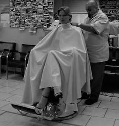 Cut My Hair, Hair Cuts, Girl Haircuts, Cosmetology, Barbershop, Salons, Gray, Retro, Haircuts