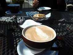 there is no comparison to a cup of coffee in Seattle on a warm sunny day.