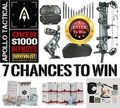 Win This Apollo-Tactical Compound Bow & More!