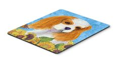 Cavalier Spaniel Mouse Pad, Hot Pad or Trivet