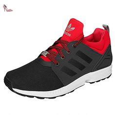 Adidas Zx Flux NPS updt Baskets Homme Noir/Rouge 43 1/3 EU - Chaussures adidas originals (*Partner-Link)