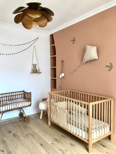 Girl Room Decor 73242 Private visit to Astrid, Petit Picotin, Paris, text and photos Billie Blanket Baby Room Boy, Baby Bedroom, Baby Room Decor, Nursery Room, Kids Bedroom, Baby Room Colors, Bedroom Themes, Miffy Lampe, Parents Room