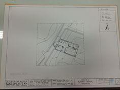 Block Plan Rumah Tinggal Seniman #spa3 #ink