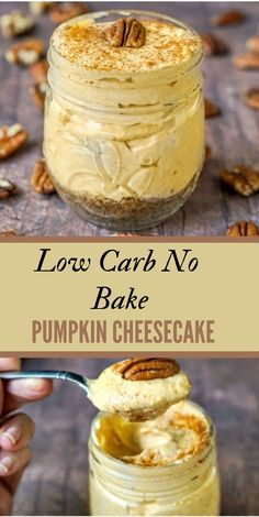 Bake Low Carb Pumpkin Cheesecake - easy, tasty and low carb dessert! No Bake Low Carb Pumpkin Cheesecake - easy, tasty and low carb dessert! No Bake Low Carb Pumpkin Cheesecake - easy, tasty and low carb dessert! Keto Desserts, Keto Friendly Desserts, Cheesecake Desserts, Sugar Free Desserts, Dessert Recipes, Dessert Ideas, Dinner Dessert, Keto Dinner, Recipes Dinner