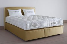 What is the best mattress for couples of differing heights? The Tiara Superb bed's pocket sprung mattress is perfect for those with differing statutes.