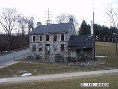 The Roseberry house; the beams in our living room were taken from there