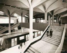 Estación de Metro, Felix Candela