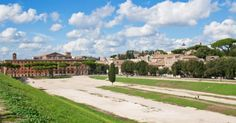 The Circus Maximus in Rome today