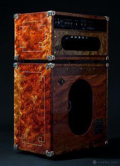 ultra custom guitar amp & speaker cabinet design on Behance