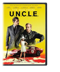 The Man From U.N.C.L.E. starring Henry Cavill and Armie Hammer on DVD  $5.00