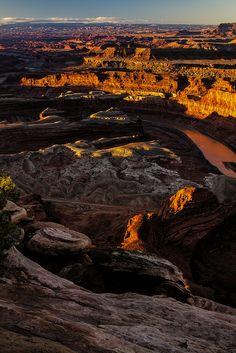 sunrise - Dead Horse Point - 3-08-14 03a   Flickr: partage de photos!