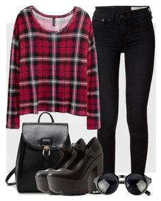 """""""Outfit #45"""" by cmhs624 on Polyvore featuring rag & bone, H&M and Charlotte Russe"""